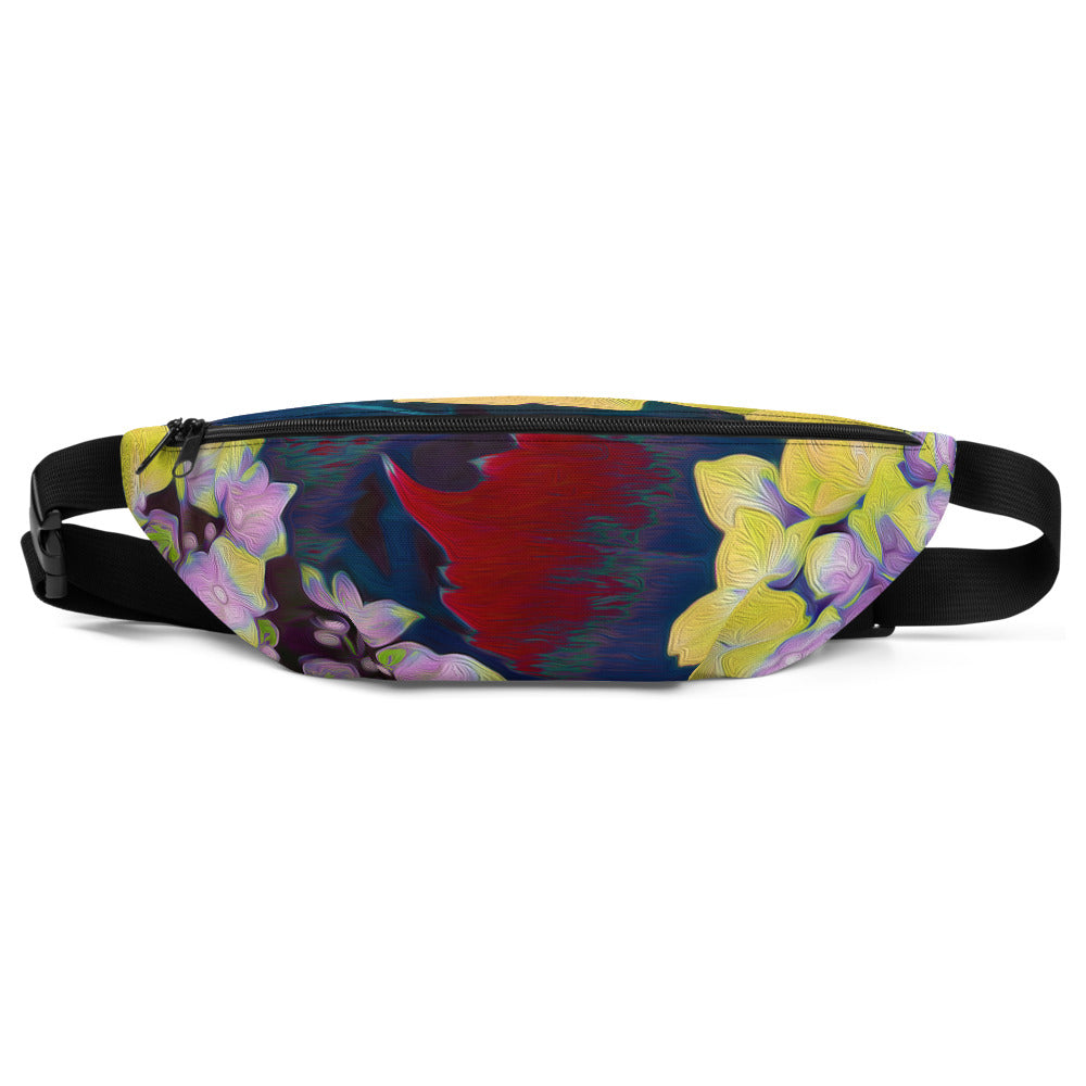 Fanny Pack - Florals: Yellow Hydrangea by Lidka Schuch