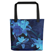 Tote Bag - Florals: Night-Glo Lilies by Lidka Schuch (LMS)