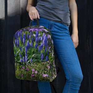 Backpack - Florals: Friends of Grape Hyacinth by Lidka Schuch