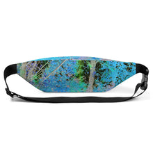 Fanny Pack - Wrapped in Trees: Maples in Blue by Lidka Schuch