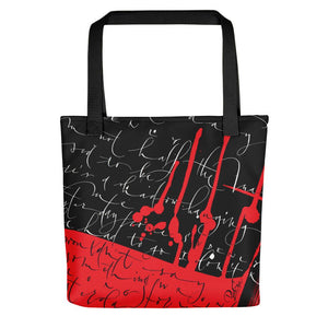 Tote Bag - Yesterday in Black by Barbara Galinska (BaGa)