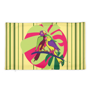 Basic Pillow Case only - Tropical: Sweethearts 2 by Lidka Schuch