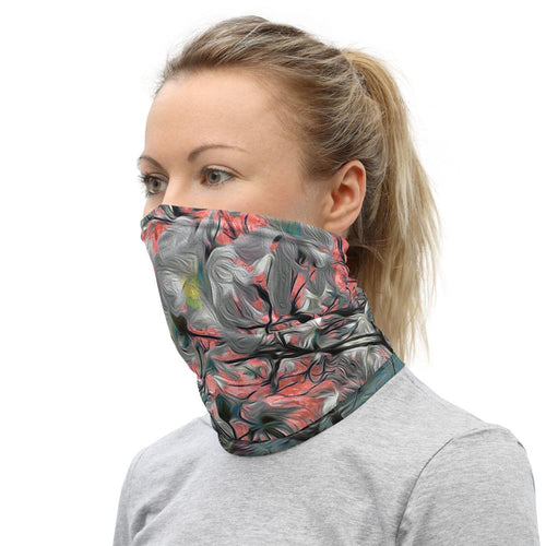 Neck Gaiter - Wrapped in Trees: Magnolia Redefined by Lidka Schuch