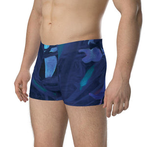 Boxer Briefs - Florals: Night-Glo Lilies by Lidka Schuch (LMS)