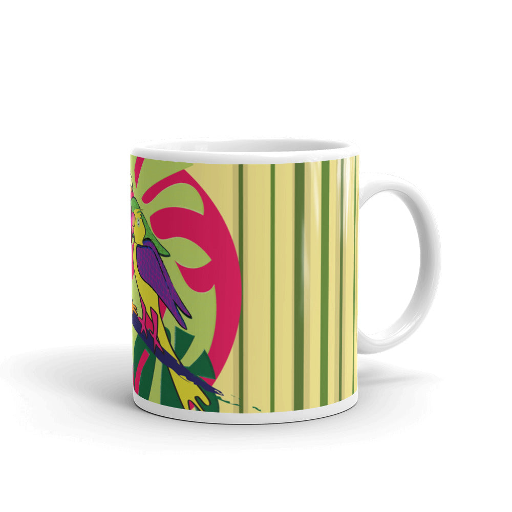 Mug - Tropical: Sweethearts 2 by Lidka Schuch