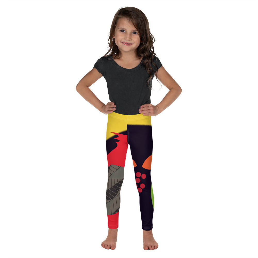 Kid's Leggings - Tweet This: Cardinals Forever by Lidka Schuch