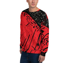 Sweatshirt, Unisex - Yesterday in Red by Barbara Galinska (BaGa)