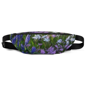 Fanny Pack - Florals: Friends of Grape Hyacinth by Lidka Schuch
