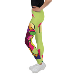 Tween's & Teen's Leggings - Tropical: Sweethearts 2 by Lidka Schuch