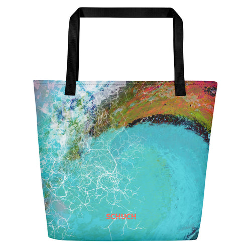 Beach Bag - SchuchSport: Surf the Wave by Lidka Schuch