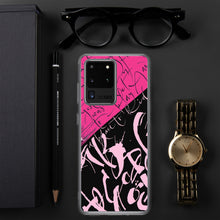 Samsung Case - Yesterday in Hot Pink by Barbara Galinska (BaGa)