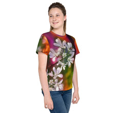 Tween's and Teen's T-shirt - Florals: Cilantro Splash by Lidka Schuch