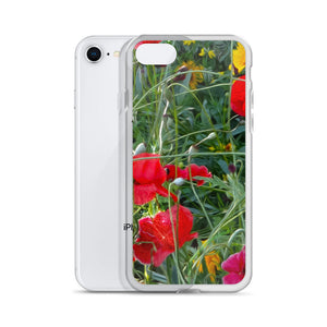 iPhone Case -  Florals: Wildflower Meadow by Lidka Schuch