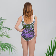 Tween's & Teen's Swimsuit - Florals: Friends of Grape Hyacinth by Lidka Schuch