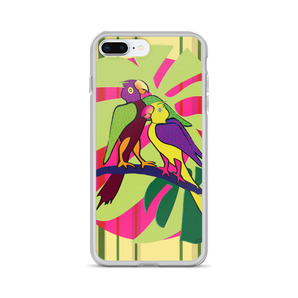 iPhone Case - Tropical: Sweethearts 2 by Lidka Schuch