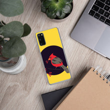 Samsung Case - Tweet This: Cardinal Song in Yellow by Lidka Schuch