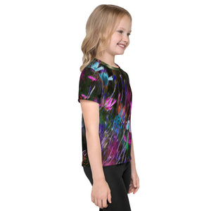 Kid's T-Shirt - Florals: Phlox Party by Night by Lidka Schuch