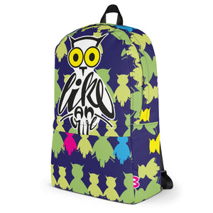 Backpack - Animaletters: Hoot Like an Owl by Barbara Galinska (BaGa)