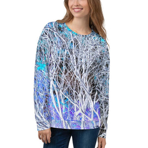 Sweatshirt, Unisex - Wrapped in Trees: Sumac Dream by Lidka Schuch
