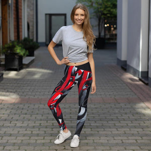 Leggings, Classic Cut - Ancient Scripts: Experiment in Cyrillic by Barbara Galinska (BaGa)