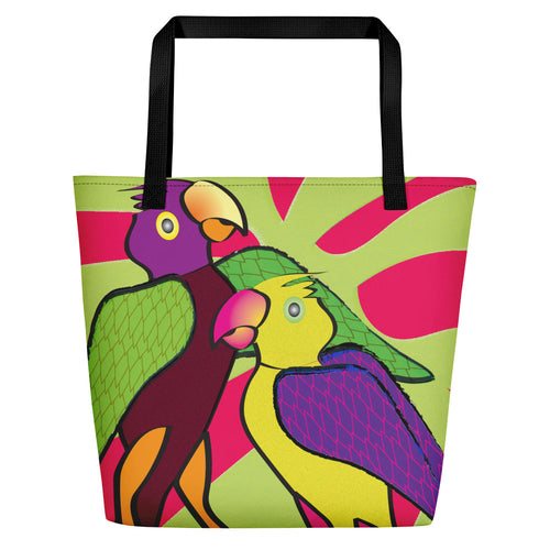 Beach Bag - Tropical: Sweethearts 2 by Lidka Schuch