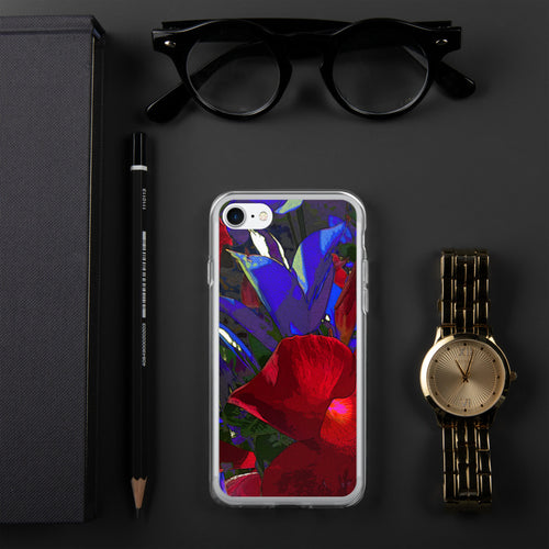 iPhone Case - Florals: Mandevilla RED by Lidka Schuch
