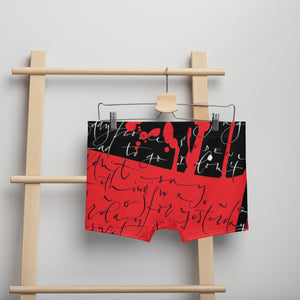 Boxer Briefs - Yesterday in Black by Barbara Galinska (BaGa)