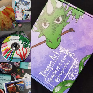 Dragon Art Craft Box One