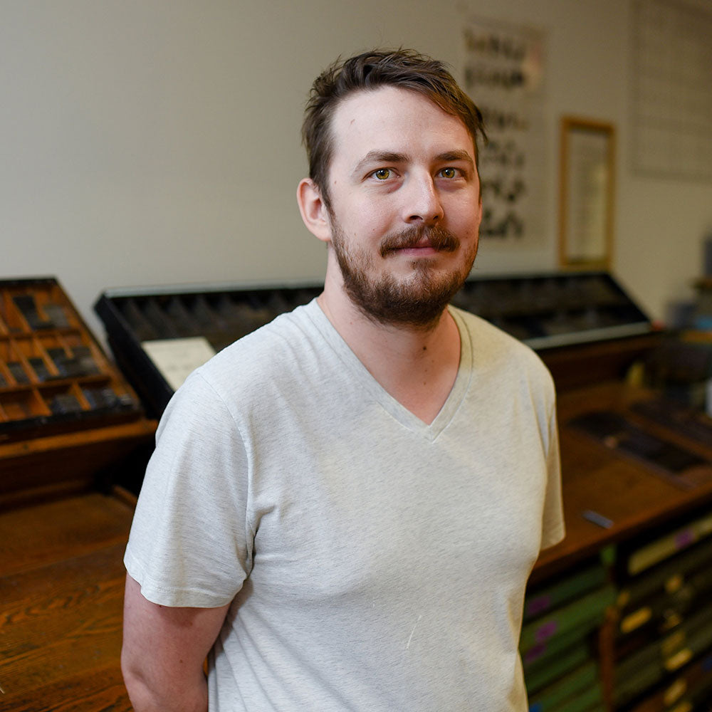 Nick Skowron of Igloo Letterpress