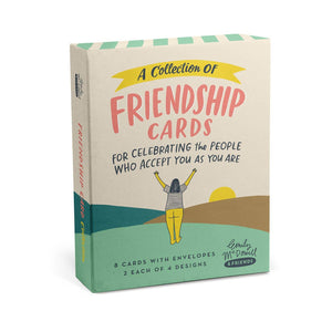 Emily McDowell & Friends - Friendship/Encouragement Cards, Box of 8 Assorted