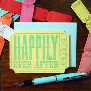 a. favorite design - Happily Ever After Ticket