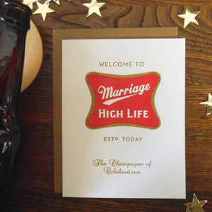 a. favorite design - Marriage High Life