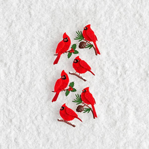 Paper Source Wholesale - Red Winter Cardinals