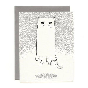 Bee's Knees Industries - Floating Ghostie Everyday Card