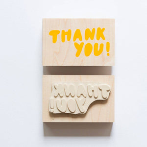 Yellow Owl Workshop - Thank You Individual Stamp