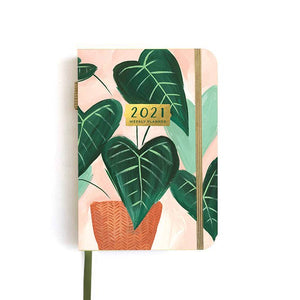 1canoe2 | One Canoe Two Paper Co. - 2021 Petite Green Leaf Weekly Planner (Jan-Dec 2021)