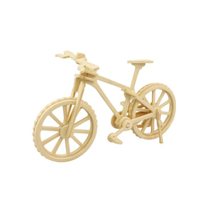 Hands Craft - JP271, 3D Wooden Puzzle: Bicycle