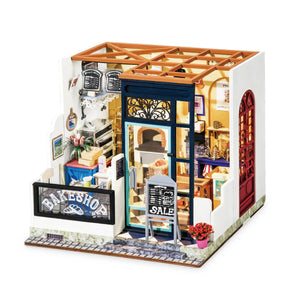 Hands Craft - DG143, Bake Shop DIY Miniature Dollhouse Kit