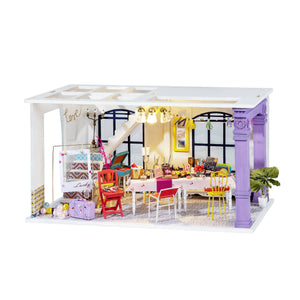 Hands Craft - DGF03, Party Time DIY Miniature Dollhouse Kit