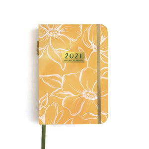 1canoe2 | One Canoe Two Paper Co. - 2021 Petite Golden Poppy Weekly Planner (Jan-Dec 2021)
