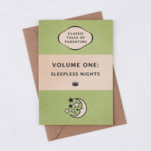 Bookishly - Sleepless Nights Greeting Card