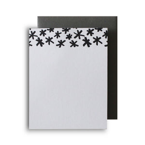 Asterisk Letterpress Notecard