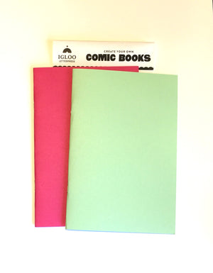 Comic Book Notebooks