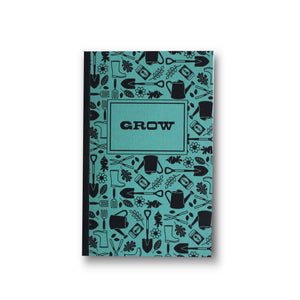 Grow Journal+Book Letterpress Cover