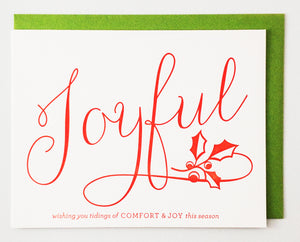 Joyful Greeting Card