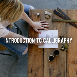 Introduction To Calligraphy Class