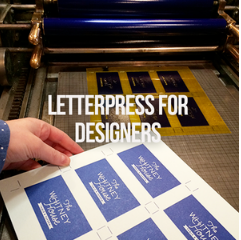 Intro to Letterpress for Designers
