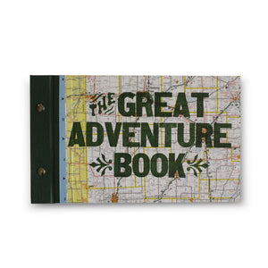 The Great Adventure Book with Letterpress Cover