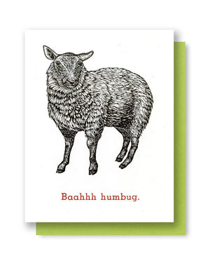 Questionable Press - X-mas Sheep Card
