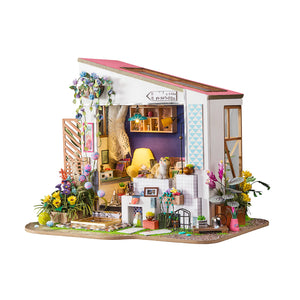 Hands Craft - DG11, Lily's Porch DIY Miniature Dollhouse Kit